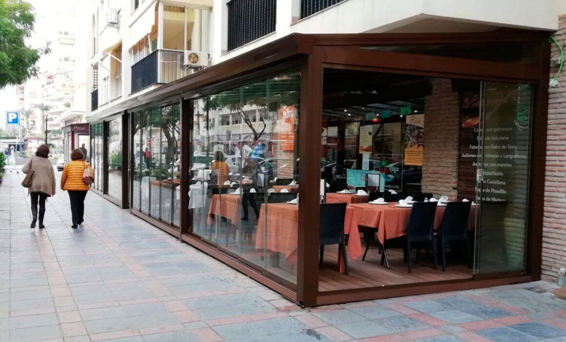 Cerramiento de Terraza en Fuengirola (Málaga)
