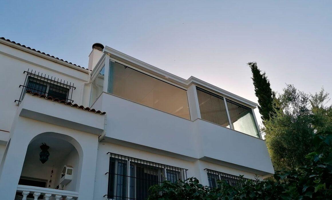 Cerramiento de Terraza en El Palo Málaga